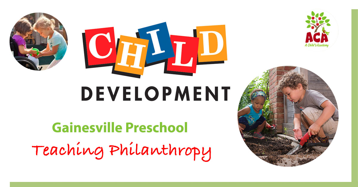 Preschool Philanthropy