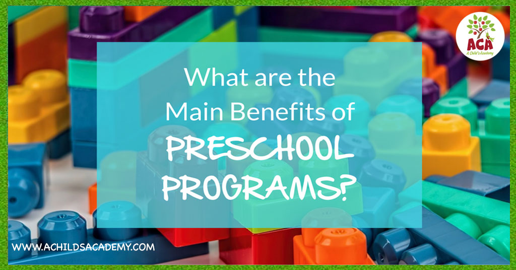 Gainesville Preschool Benefits
